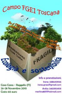 Campo FGEI a Casa Cares sull'ecologia e la sostenibilità