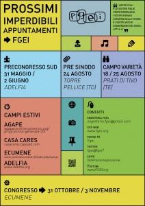 FGEI_Prossimi appuntamenti 2013