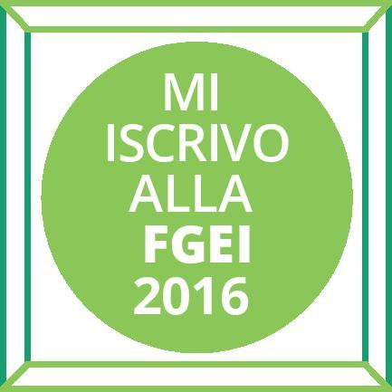 Campagna iscrizione FGEI 2016